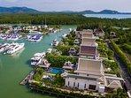 Villa Kalyana at Royal Phuket Marina - Aerial View