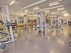 Large 24 hour gym