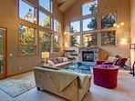 Buffalo Mountain Vista Living Room Frisco Lodging Vacation Renta