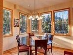 Buffalo Mountain Vista Dining Room Frisco Lodging Vacation Renta