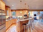Buffalo Mountain Vista Kitchen Frisco Lodging Vacation Rental