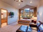 Buffalo Mountain Vista Master Bedroom Frisco Lodging Vacation Re