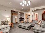 Buffalo Mountain Vista Downstairs Living Area Frisco Lodging Vac