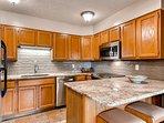 Woods Manor Kitchen Breckenridge Lodging Vacation Rental