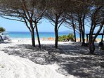 La Pinetta Beach - only 1 mile away