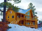 Make Memories for a lifetime in this log cabin