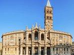 Nearby:the beautiful church of Santa Maria Maggiore