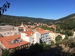 Local mountain villages, Ceret and Amelie Le Bain have wonderful markets and views to die for.