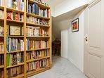 Le palier bibliothèque