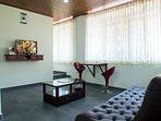 living room at mist valley service villa