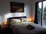 Double Bedroom overlooking private terrace