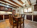 Well equipped kitchen with dishwasher, fridge/freezer