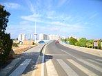 Gran Vía de La Manga. Puente levadizo