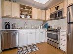 Large fully stocked kitchen