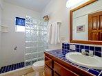 Downstairs full bath