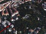 Google Eatrh view of the neighborhood.