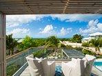 King Bedroom balcony view
