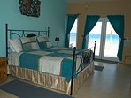 spectacular Bedroom - Ocean Views - Private Area  king size bed
