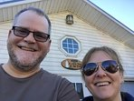 Your hosts, Tom & Shelly. We also rent out The Pultneyville Harbor Office Cottage.