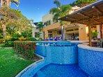 BBQ area & pool terrace