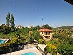 View from Acacia Villa