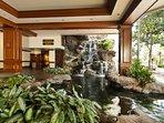 Lobby of Waikiki Banyan.