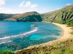 Beaches like world-famous Hanauma Bay are only a short drive away!