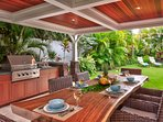 Outdoor covered lanai