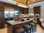 Beautiful, well-appointed kitchen.