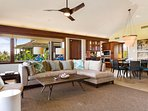 Open floor plan - Living and Dining Rooms