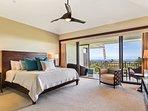 Master Bedroom w/Ocean Views
