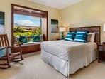 2nd Bedroom w/Views of Mount Hualalai, & In Suite Bathroom