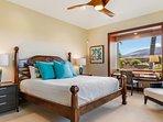 3rd Bedroom w/Views of Mount Hualalai, & In Suite Bathroom