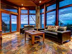 Living Room with a VIEW!
