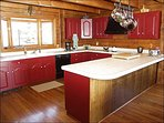 Spacious & Colorful Kitchen