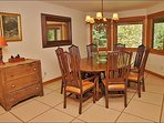 Formal Dining for 8, Adjacent and Open to Kitchen