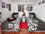 Second Bedroom has Twin Beds, or a Split King
