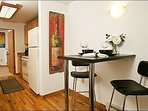 Dining Area for Two off the Kitchen