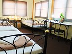 4 beds room