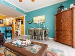 Coastal and cozy Pelican Isle 611 is the perfect family retreat