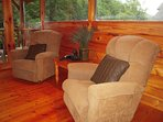 Lovely recliners & in house Verizon phone w/unlimited local & long distance