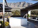 Roof Deck with views or Table Mountain, Loins Head and Signal Hill