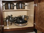Upgrade Stainless Steele Cookware