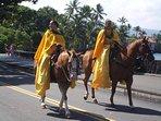 King Kamehameha Day Parade in Kailua Kona