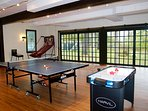 Game Room in Carriage House