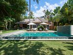 2BR Beachfront Villa / SPA / Wild Beach / Diving