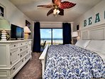 Wake up to the beautiful water view from the master bedroom.