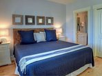 King Master Suite features private bath