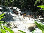 World famous Dunn's River Falls