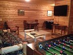 Cherokee Basement Family room